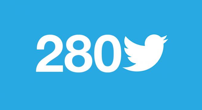 280 caracteres para Twitter